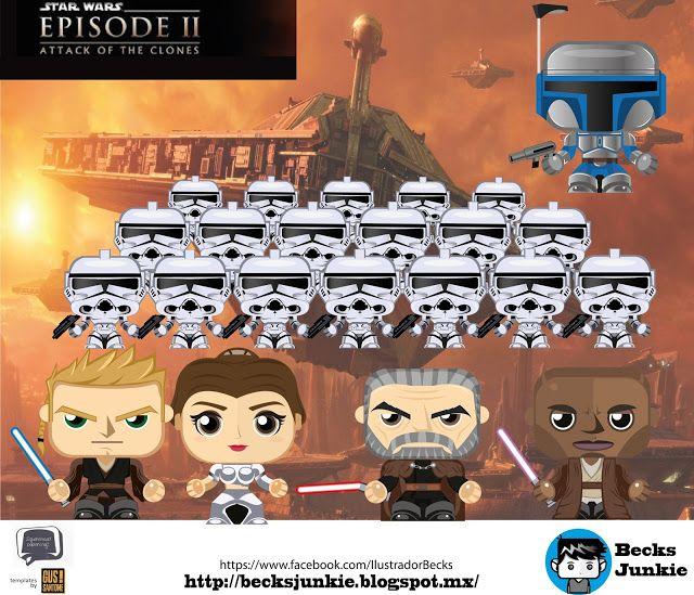 Becks Junkie: Star Wars Episodio II: El Ataque De Los Clones