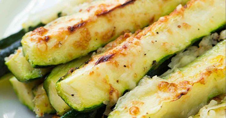 recept na Cuketové hranolky se sýrem, česnekem a parmezánem2