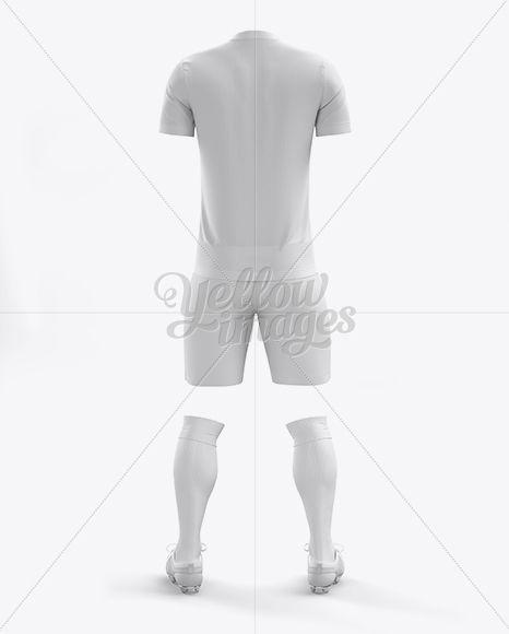 Men's Full Soccer Kit (Back View)