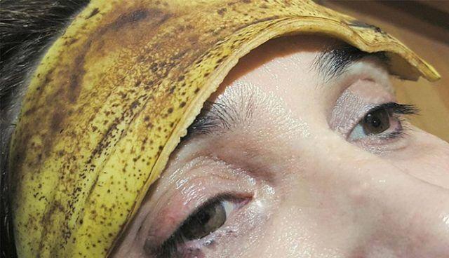 banánová šupka