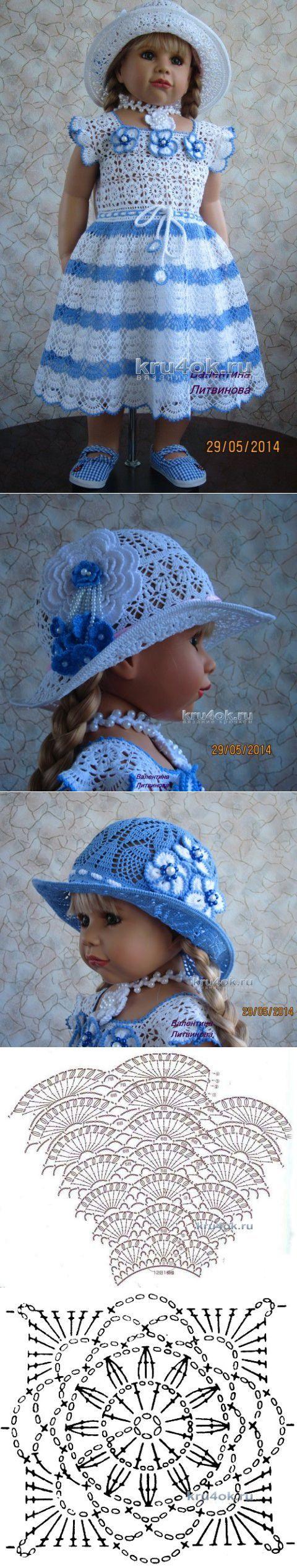 детское платье вязать спицами простая схема