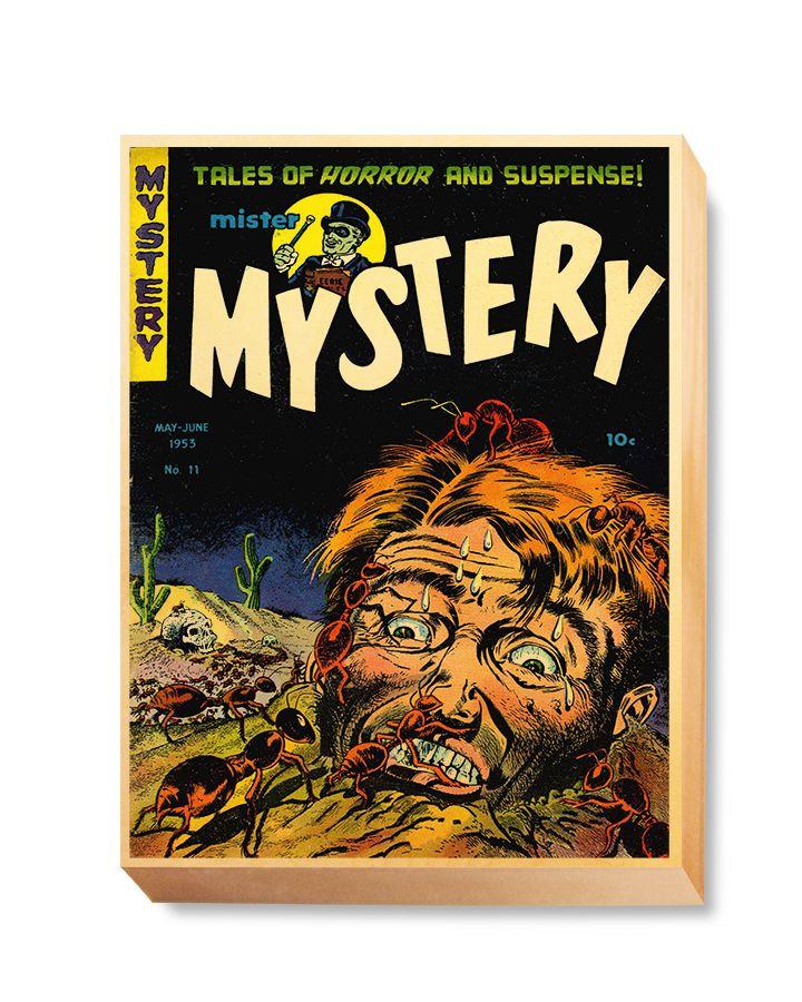 HOR 015 Horror Comic Cover - Mystery Ants