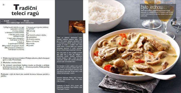 Tradiční Telecí Ragú recept, Tefal Mijotcook SD5000