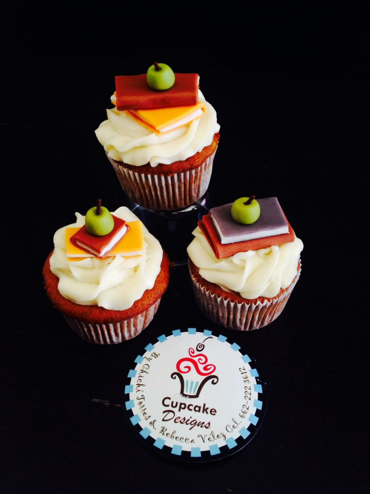 1000 Images About Teacher Appreciation Cupcakes On