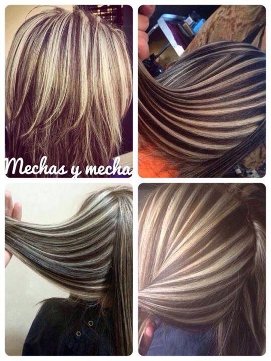 Best 25 chunky highlights ideas on pinterest blonde highlights chunky highlights love the dark to light chunky contrast pmusecretfo Images