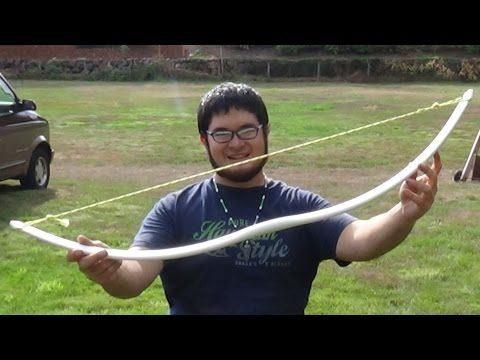 Making a Gull Wing Style PVC Bow in Under 20 Minutes at the Sammamish Knapp In - YouTube