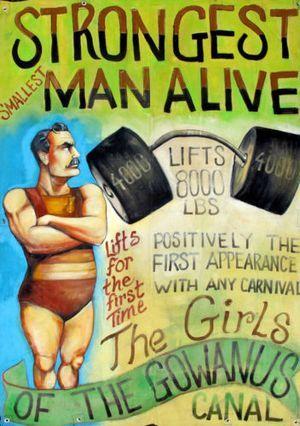 STRONGEST MAN ALIVE