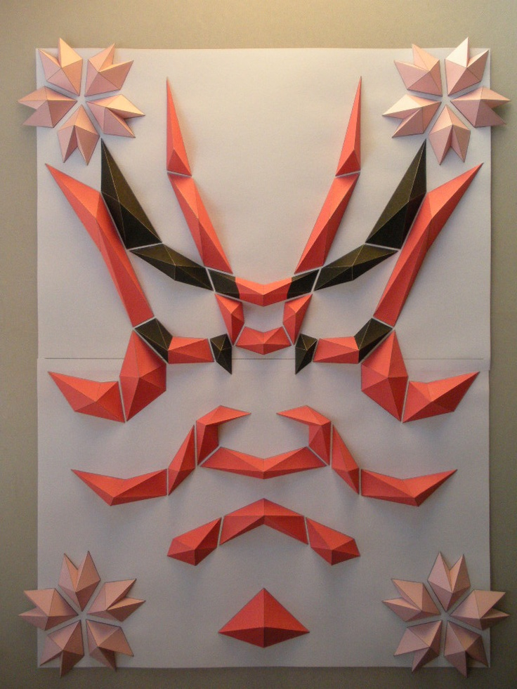 KUMA-DORI. Origami style !