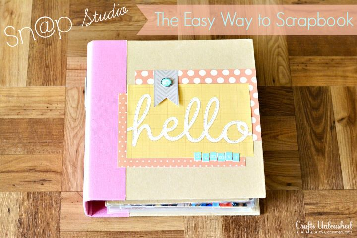 Sn@p Studio: The Quick & Easy Way to Scrapbook - tutorial on craftsunleashed.com