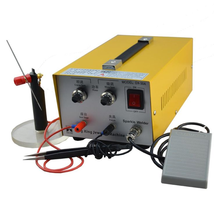 220V  spot welding Good Pulse Spot Welder 200W Jewelry Welding Machine Gold Silver Platinum Jewelry sparkle welder machine  #Affiliate