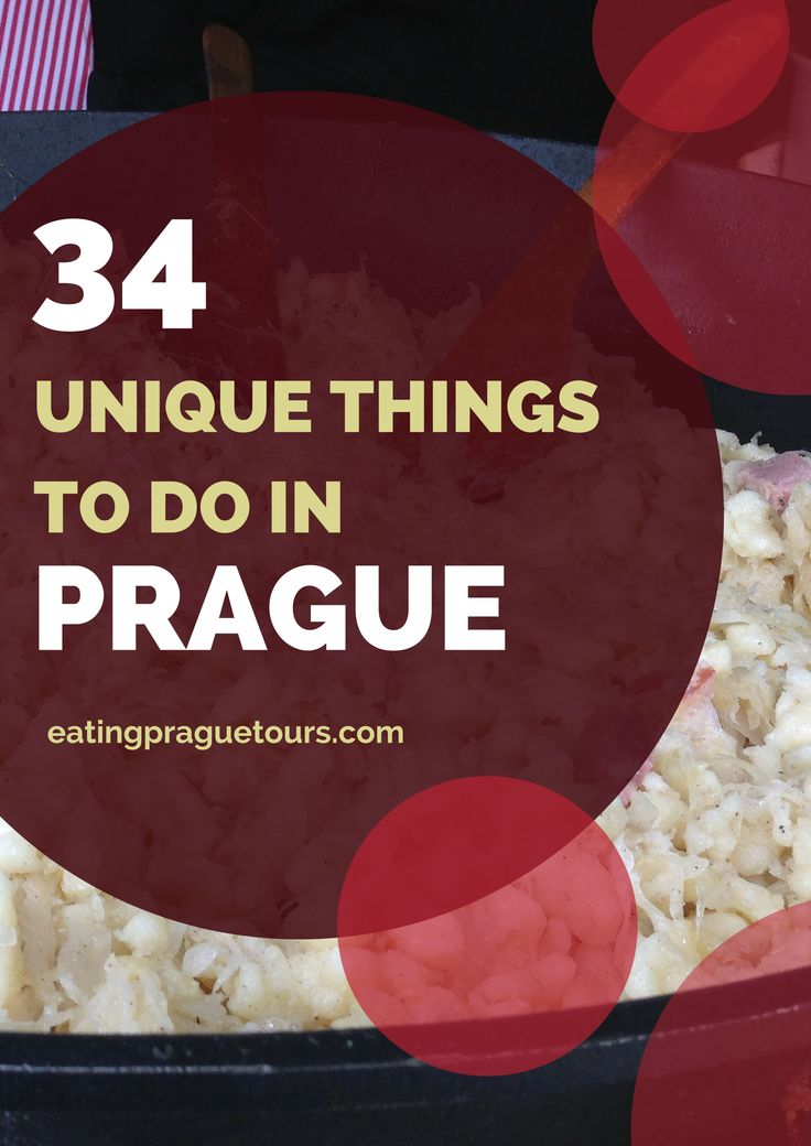 34 Unique Things to do in Prague as Told by Locals  #vinterferie2017 #Praha #jentetur
