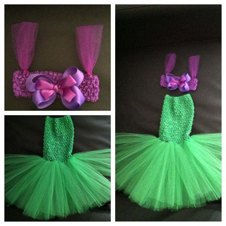 Little mermaid tutu costume @Ashley Clarke WHAT do you think of this??