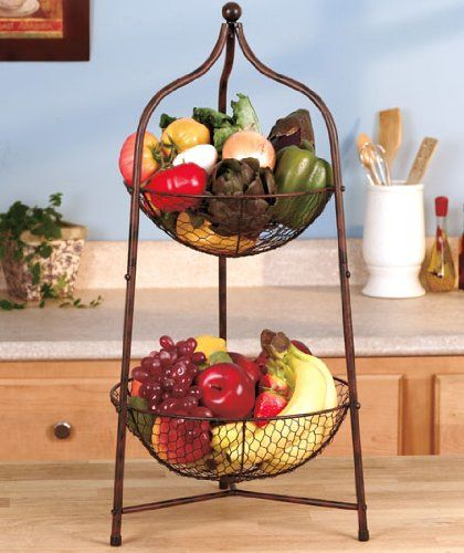 28 Best Tiered Fruit Stand Images On Pinterest