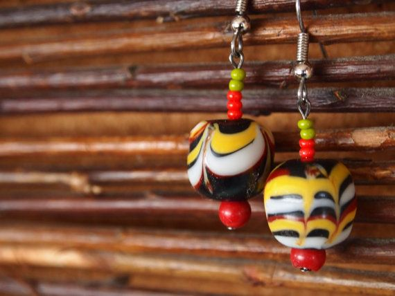 Indonesia Jawa Style Yearrings by MrGreener on Etsy, ¥1500