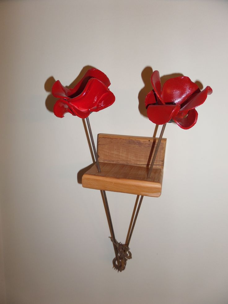 My idea for displaying the ceramic poppy from The Tower of London.