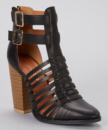 Love these! Black Smith Sandal by Bumper #zulilyfinds #zulily #shoelove