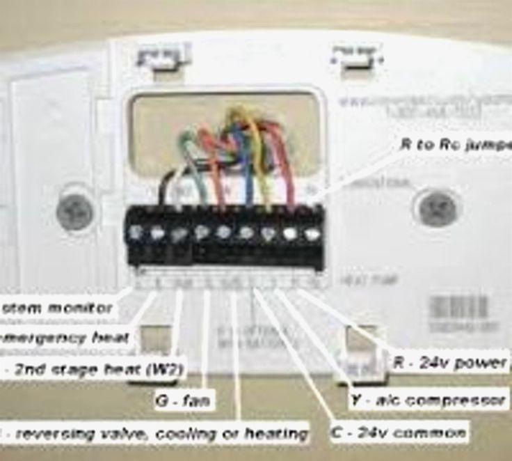 Heat Pump Thermostat Wiring Diagram, Honeywell Thermostat Wiring Diagram Heat Pump