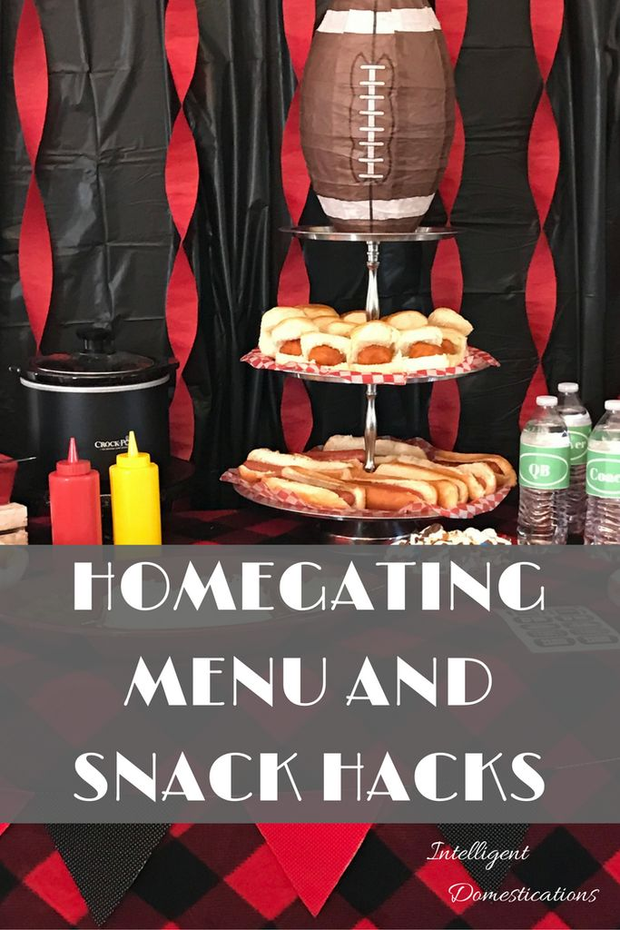Homegating Menu and Snack Hacks including free printable team position water bottle labels, free printable menu and Recipe for Crockpot Maple Beans and Franks Ad #fanfoodleague