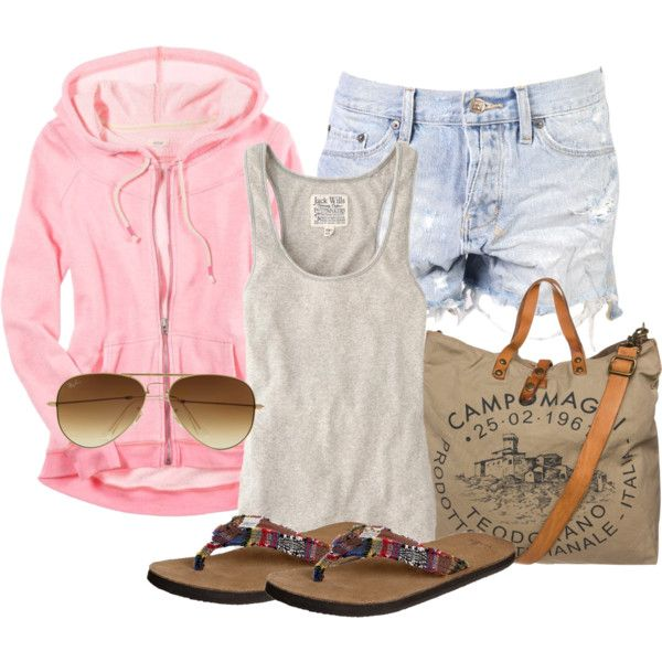 Relaxed Summer Style by debbie-probst on Polyvore