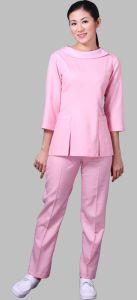 Uniforme de la enfermera, uniforme médico del precio de fábrica - Nu01