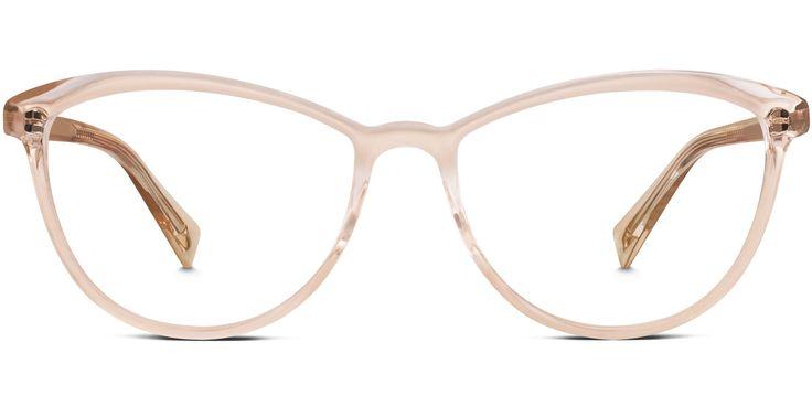 Louise Eyeglasses in Elderflower Crystal for Women   Warby Parker