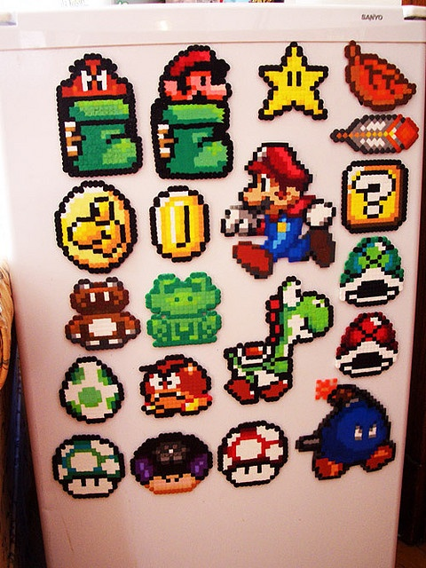 393 best images about mario brothers on pinterest perler bead patterns perler beads and super. Black Bedroom Furniture Sets. Home Design Ideas