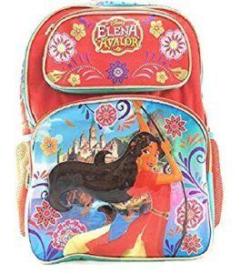 La mochila de la Princesa Elena