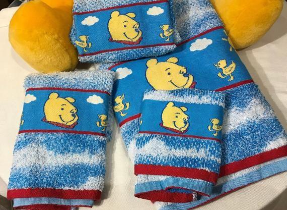 New Vintage Winnie The Pooh Towels Pooh Bath Towel 1 Pooh