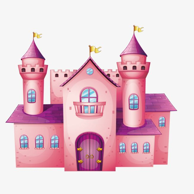 Fantasy Purple Castle Illustration Castle Clipart Purple Castle Red Roof Png And Vector With Transparent Background For Free Download Castle Illustration Castle Clipart Fantasy Posters
