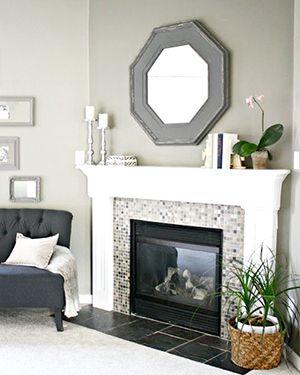 Trouvailles Pinterest: Les foyers Source: thriftydecorchick.blogspot.ca
