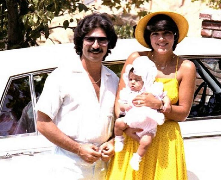 Kris Jenner and ex-husband Robert Kardashian.