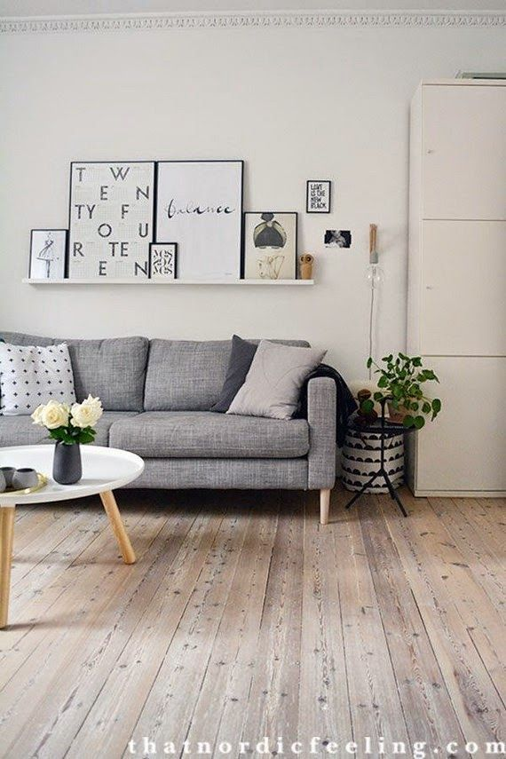 TRS STUDIO Blog De Decoracin Nrdica Chic Casual Y Reformas In Situ Shelves Above CouchLiving Room