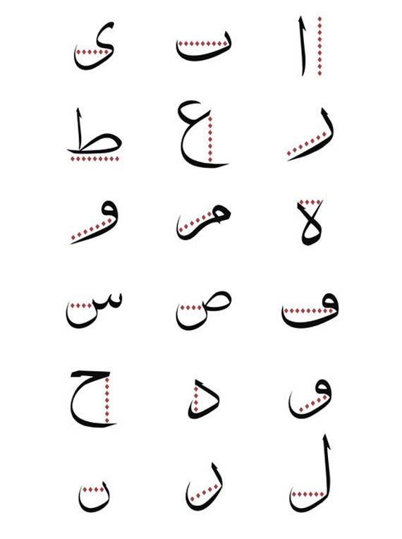 Best arabic calligraphyالخط العربي images on pinterest