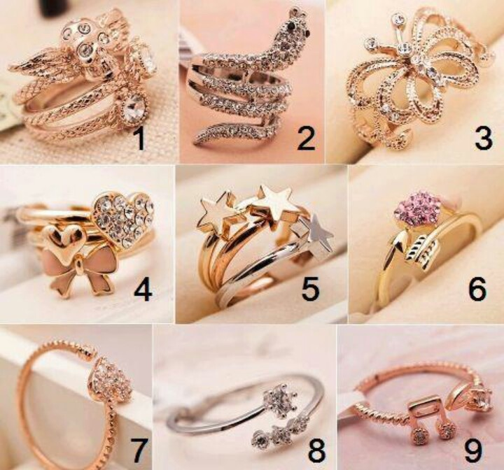 224 best Rings to inspire images on Pinterest | Accessories ...