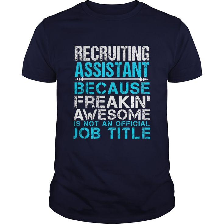 13 best Recruiting Assistant T-Shirts \ Hoodies images on - network assistant sample resume