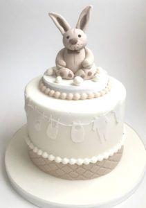 Neutral Baby Shower Cake Ideas