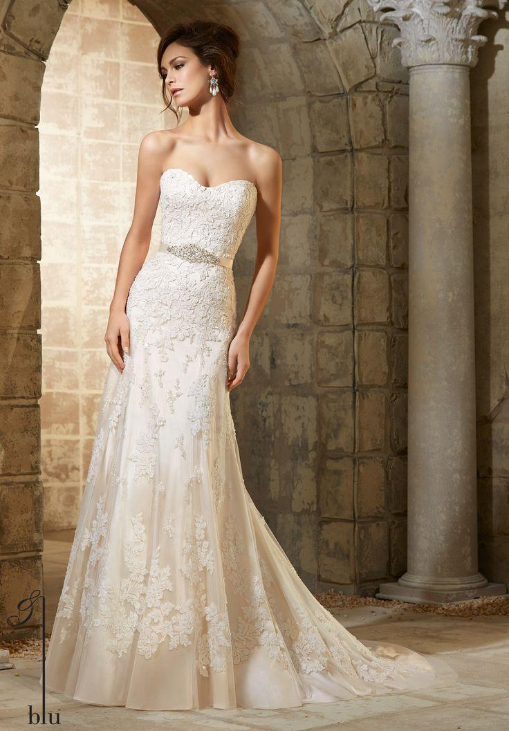 117 best blu morilee madeline gardner images on for Mori lee ivory wedding dress