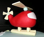 fondant helicopter so cool looking