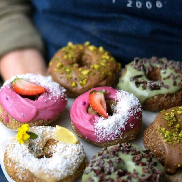 Adorable Raw Donuts At Combi By @donutfestmelb