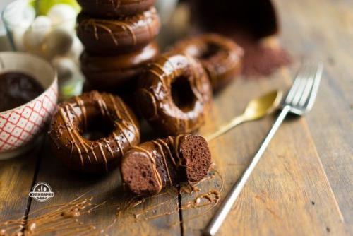 Шоколадные пончики из духовки. | Шедевры кулинарии