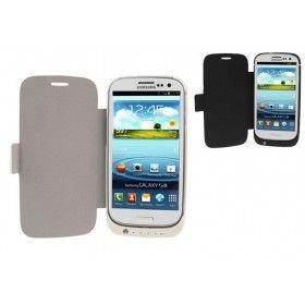 Funda Batería Samsung Galaxy S3 con tapa http://www.tucargadorsolar.com/Fundas-Bateria-Samsung/Funda-Bateria-Cover-para-Samsung-Galaxy-S3-Negro.html