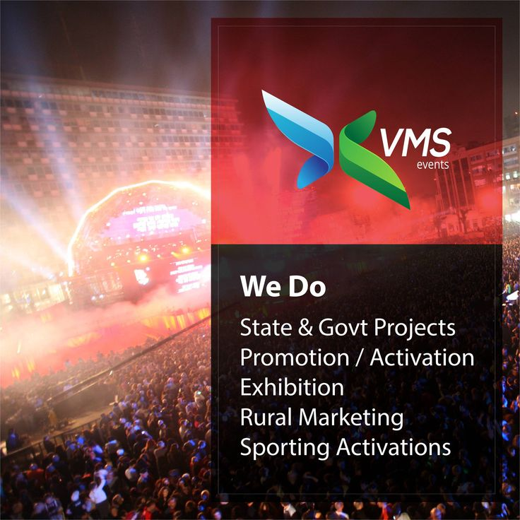 VMS Events create a world-class enterprise in the event management space by offering high quality services that leaves an indelible impact on our customers. #VMSEvents