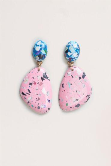 Terazzo Earrings - buy jewelry, online jewellery shopping store, men's jewellery *ad