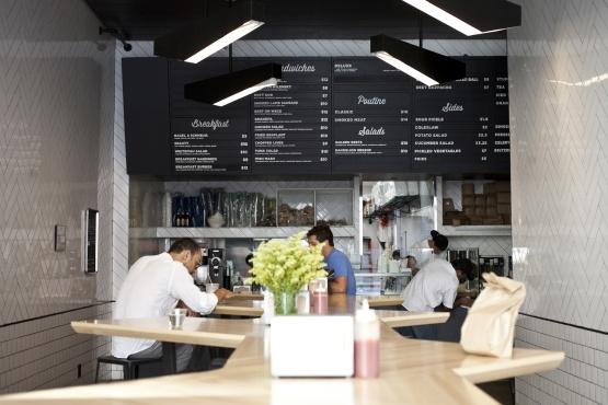 Mezzanine Restaurant Interiors