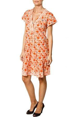 Clara dress - orange
