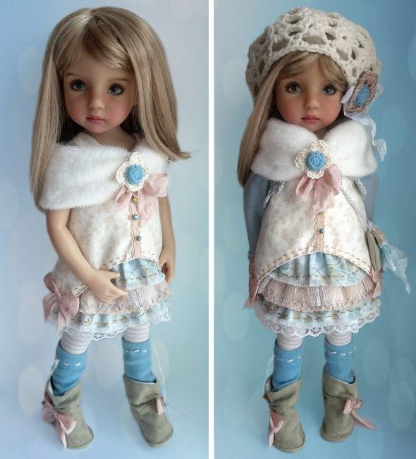 Капелька весны от Дианны Эффнер / Коллекционные куклы Дианы Эффнер, Dianna Effner / Бэйбики. Куклы фото. Одежда для кукол