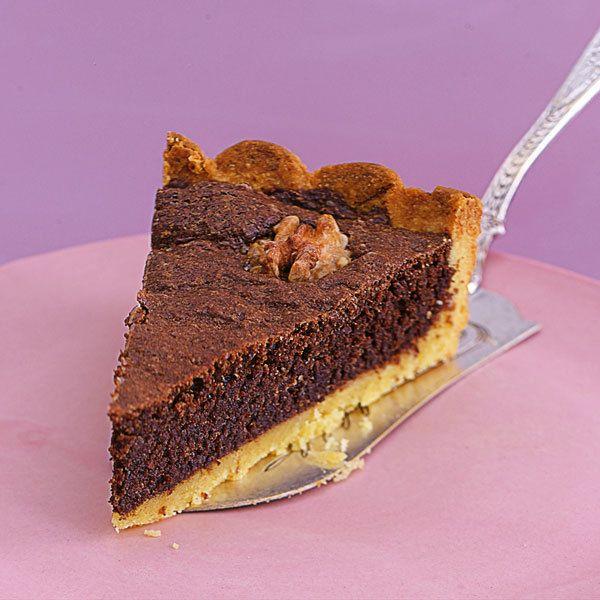Kuchen mit tafelschokolade