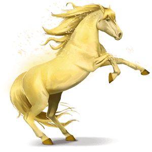 Shiny Yellow, Cavallo dell'arcobaleno Shiny Yellow #4318120 - Howrse