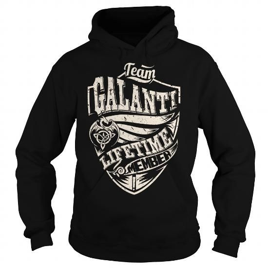 Cool Team GALANTI Lifetime Member (Dragon) - Last Name, Surname T-Shirt T shirts