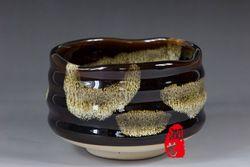 Goedkope , koop rechtstreeks van Chinese leveranciers: met de hand gemaakt japanse theeceremonie matcha thee kom zwarte grove luipaard graan glazuur kom wan chawan chaglazuurmatcha kommenelkekomovenBurn-outkleurenZijn verschillende,de opbrengstIs zeer laa